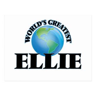 World's Greatest Ellie Post Card