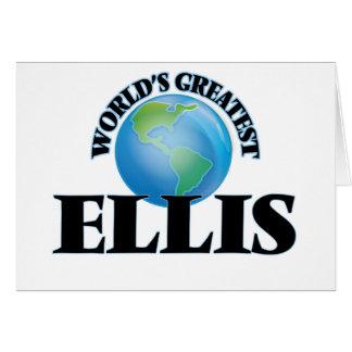 World's Greatest Ellis Greeting Card
