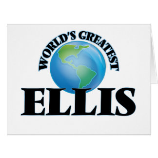 World's Greatest Ellis Greeting Cards