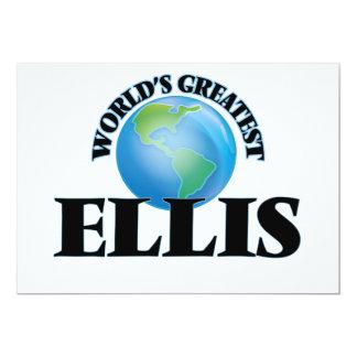 World's Greatest Ellis Personalized Invitations
