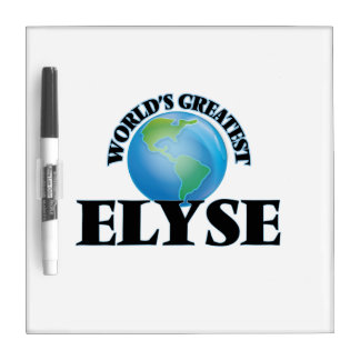 World's Greatest Elyse Dry Erase Boards