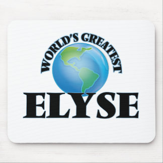World's Greatest Elyse Mouse Pad
