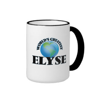 World's Greatest Elyse Ringer Mug
