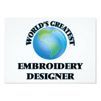 World's Greatest Embroidery Designer Cards