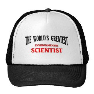 World's Greatest Environmental Scientist Cap