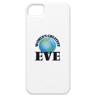 World's Greatest Eve iPhone 5 Cover