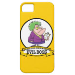 WORLDS GREATEST EVIL BOSS LADY CARTOON CASE FOR THE iPhone 5