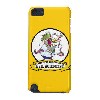 WORLDS GREATEST EVIL SCIENTIST MEN CARTOON iPod TOUCH (5TH GENERATION) COVERS