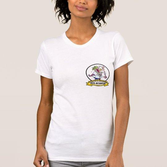 WORLDS GREATEST EVIL SCIENTIST MEN CARTOON T-Shirt