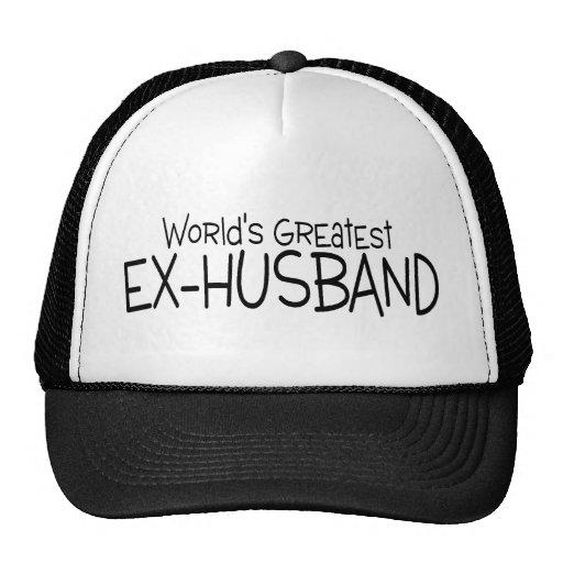Worlds Greatest Ex Husband Trucker Hats