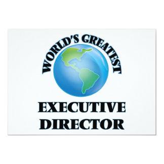 World's Greatest Executive Director Invitation