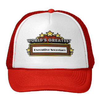 World's Greatest Executive Secretary Trucker Hat