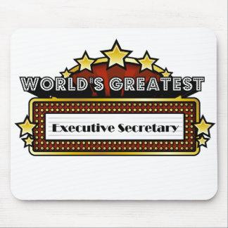 World's Greatest Executive Secretary Mousepad