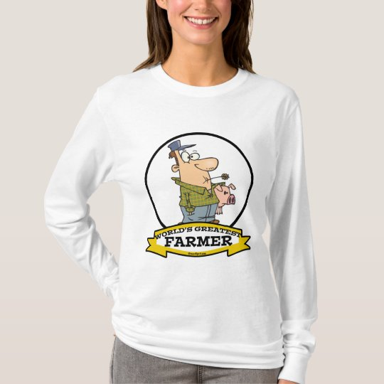 WORLDS GREATEST FARMER CARTOON T-Shirt