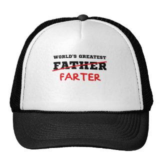 World's Greatest Farter Trucker Hats
