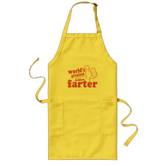 World's Greatest Farter Long Apron