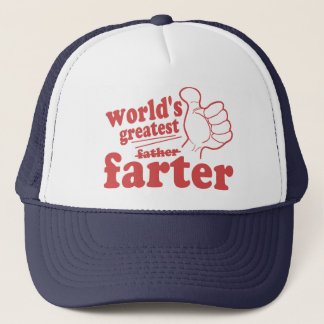 World's Greatest Farter Trucker Hat