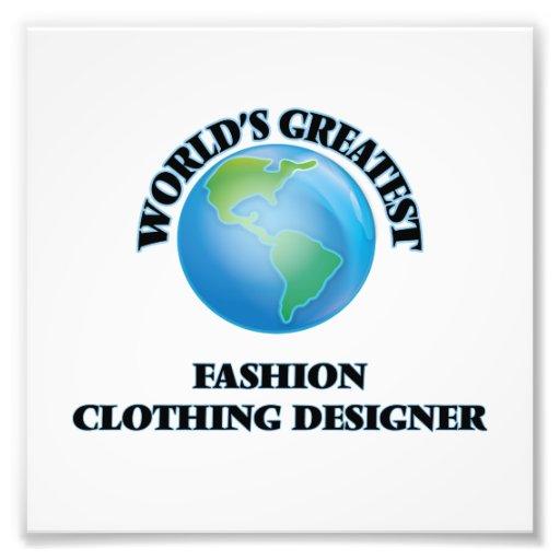 World's Greatest Fashion Clothing Designer Photograph