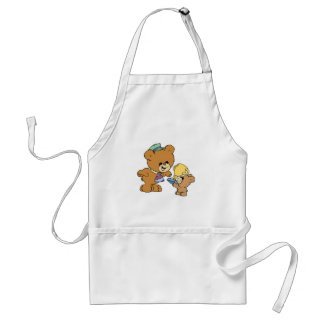 worlds greatest father cute teddy bears design standard apron