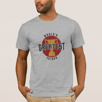 WORLD'S GREATEST FATHER (RED) T-Shirt