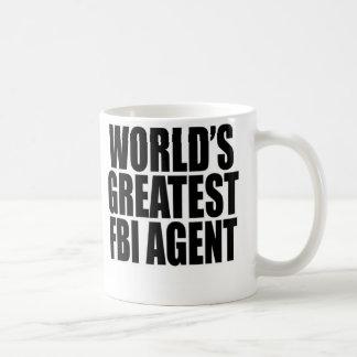 World's Greatest FBI Agent Basic White Mug