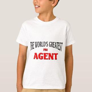 World's Greatest FBI Agent T-shirts