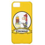 WORLDS GREATEST FIREMAN MEN CARTOON iPhone 5C CASES