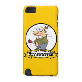 WORLDS GREATEST FLY SWATTER MEN CARTOON iPod TOUCH (5TH GENERATION) COVER