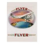 World's Greatest Flyer Vintage Spirit of St. Louis Postcard