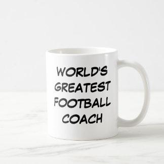 """World's Greatest Football Coach"" Mug"