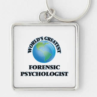 World's Greatest Forensic Psychologist Key Chain