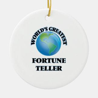 World's Greatest Fortune Teller Christmas Tree Ornament