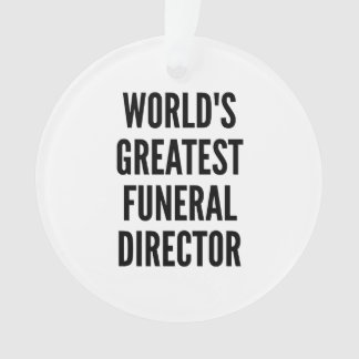 Worlds Greatest Funeral Director