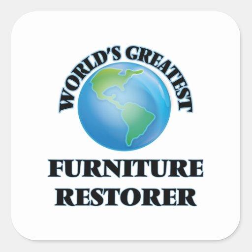 World's Greatest Furniture Restorer Stickers