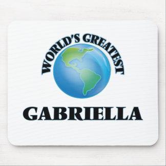 World's Greatest Gabriella Mouse Pads