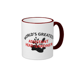 World's Greatest Gardner Ringer Mug
