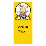 WORLDS GREATEST GEEK II CARTOON RACK CARDS
