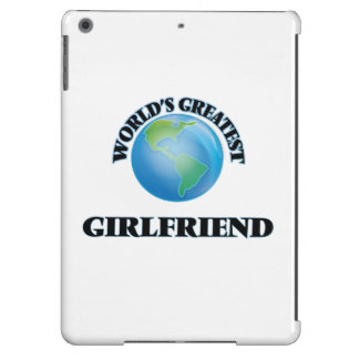 World's Greatest Girlfriend Cover For iPad Air
