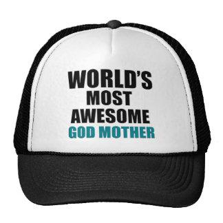 World's Greatest GOD Mother Mesh Hat