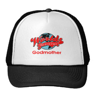 World's Greatest Godmother Cap