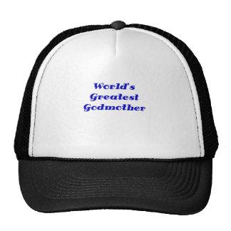 Worlds Greatest Godmother Trucker Hat