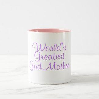 Worlds Greatest GodMother Mug