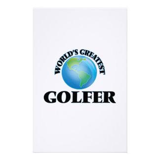 World's Greatest Golfer Stationery