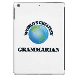 World's Greatest Grammarian iPad Air Covers