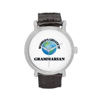 World's Greatest Grammarian Watches