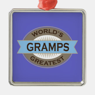 Worlds Greatest Gramps Christmas Ornament