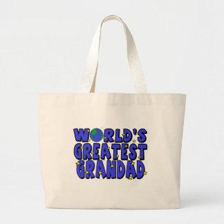 World's Greatest    Grandad Bags