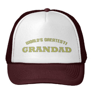 World's Greatest Grandad! Cap