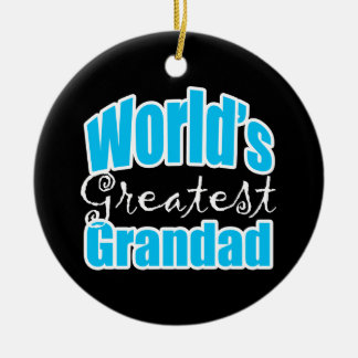 Worlds Greatest Grandad Christmas Ornament