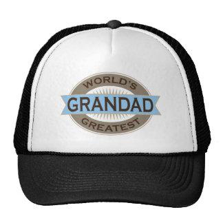 Worlds Greatest Grandad Hats